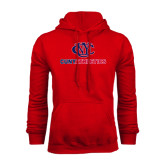 CUNY Athletics Red Fleece Hoodie-CUNY Athletics