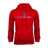 CUNY Athletics Red Fleece Hoodie-CUNY Championships