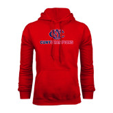 CUNY Athletics Red Fleece Hoodie-CUNY Champions