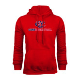 CUNY Athletics Red Fleece Hoodie-CUNY Basketball