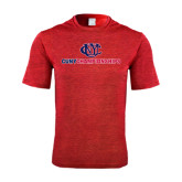 Performance Red Heather Contender Tee-CUNY Championships