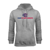 CUNY Athletics Grey Fleece Hoodie-CUNY Championships