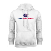 CUNY Athletics White Fleece Hoodie-CUNY Championships
