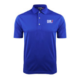 CUNY Athletics Royal Dry Mesh Polo-Official Logo