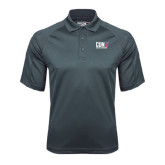 CUNY Athletics Charcoal Dri Mesh Pro Polo-Official Logo