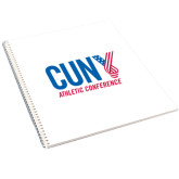 CUNY Athletics College Spiral Notebook w/Clear Coil-Official Logo