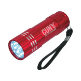 Industrial Triple LED Red Flashlight-Official Logo Engraved