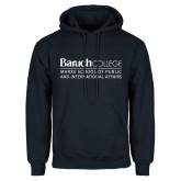 College Navy Fleece Hoodie-School of Public Affairs