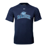 Under Armour Navy Tech Tee-Baruch Arched