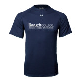 Under Armour Navy Tech Tee-Zicklin School of Business