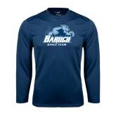 Syntrel Performance Navy Longsleeve Shirt-Dance Team