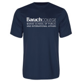 College Performance Navy Tee-School of Public Affairs