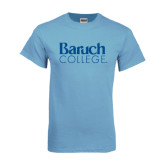 College Light Blue T Shirt-Official Logo