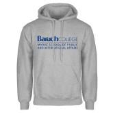 College Grey Fleece Hoodie-School of Public Affairs