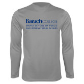 College Performance Steel Longsleeve Shirt-School of Public Affairs