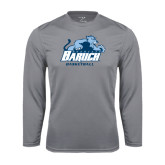 College Performance Steel Longsleeve Shirt-Basketball