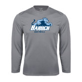 College Performance Steel Longsleeve Shirt-Softball