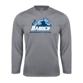 College Performance Steel Longsleeve Shirt-Swimming and Diving