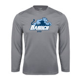 College Performance Steel Longsleeve Shirt-Dad
