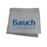 College Grey Sweatshirt Blanket-Official Logo