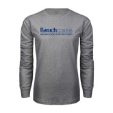 Grey Long Sleeve T Shirt-Weissman School of Arts