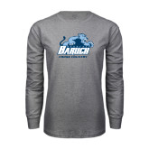 Grey Long Sleeve T Shirt-Cross Country