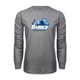 Grey Long Sleeve T Shirt-Dance Team