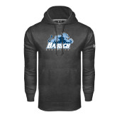 College Under Armour Carbon Performance Sweats Team Hoodie-Baruch Athletics