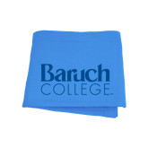 College Light Blue Sweatshirt Blanket-Official Logo