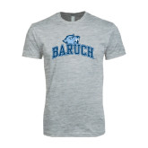 Next Level SoftStyle Heather Grey T Shirt-Baruch Arched