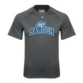 Under Armour Carbon Heather Tech Tee-Baruch Arched