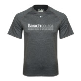 Under Armour Carbon Heather Tech Tee-Weissman School of Arts