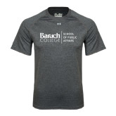 Under Armour Carbon Heather Tech Tee-School of Public Affairs Stacked