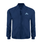 Navy Players Jacket-Baruch Arched