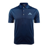 College Navy Dry Mesh Polo-Baruch Arched