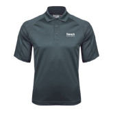 College Charcoal Dri Mesh Pro Polo-Official Logo