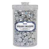 Kissable Creations Large Round Canister-Official Logo Engraved
