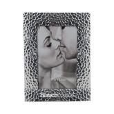 Silver Textured 4 x 6 Photo Frame-Baruch Wordmark Engraved