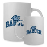 Full Color White Mug 15oz-Baruch Arched