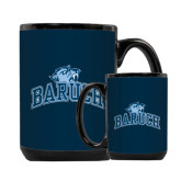 Full Color Black Mug 15oz-Baruch Arched
