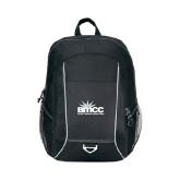 Atlas Black Computer Backpack-Official Logo