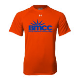 Under Armour Orange Tech Tee-Official Logo