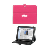 Deluxe Pink Tablet Stand-Official Logo