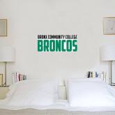 6 in x 2 ft Fan WallSkinz-Bronx Community College Bronocs