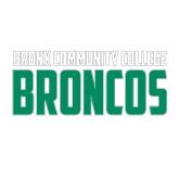 Medium Decal-Bronx Community College Bronocs, 8 in wide