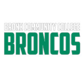 Large Decal-Bronx Community College Bronocs, 12 in wide