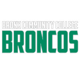 Extra Large Decal-Bronx Community College Bronocs, 18 in wide