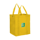 Non Woven Gold Grocery Tote-Bronoc