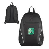 Atlas Black Computer Backpack-Bronoc