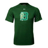 Under Armour Dark Green Tech Tee-Bronoc